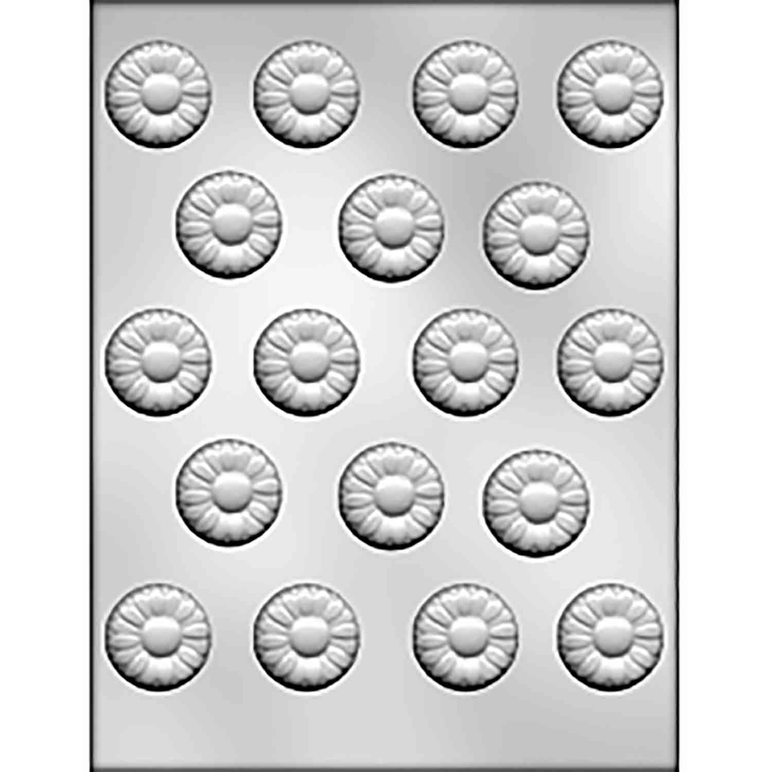 Medium Daisy Chocolate Candy Mold