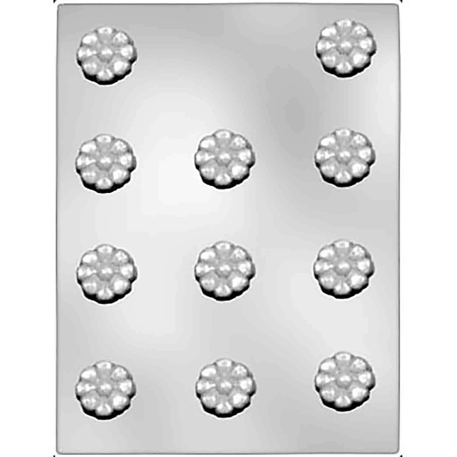 Deep Daisy Chocolate Candy Mold - 1 1/4""