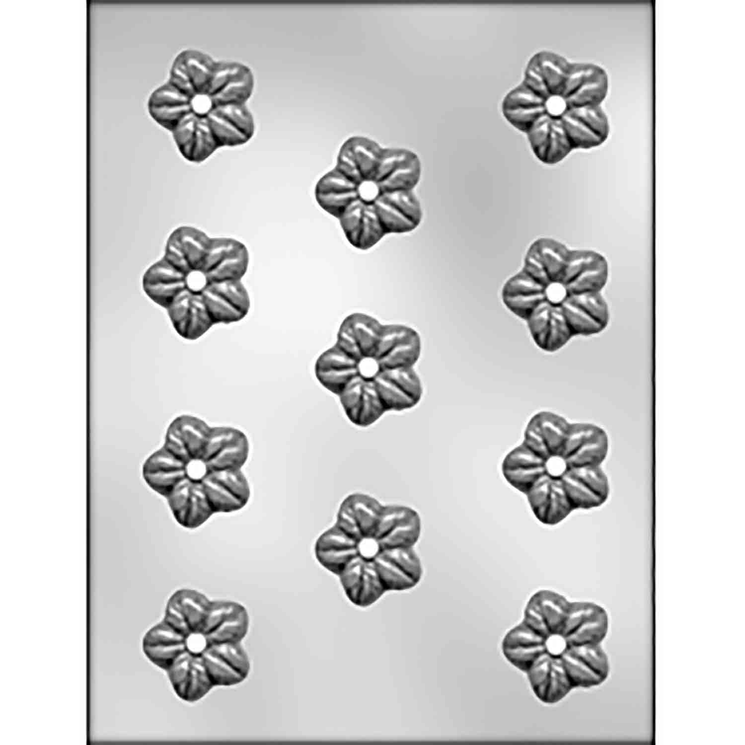 Wild Rose Chocolate Candy Mold
