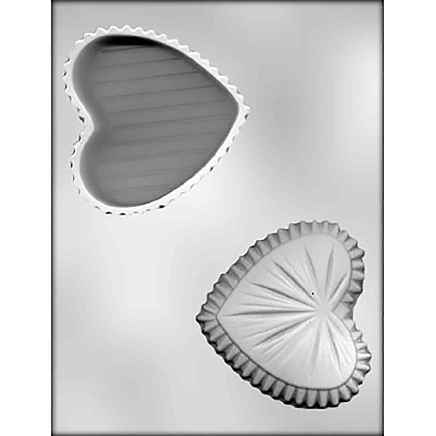 Heart Box Chocolate Candy Mold