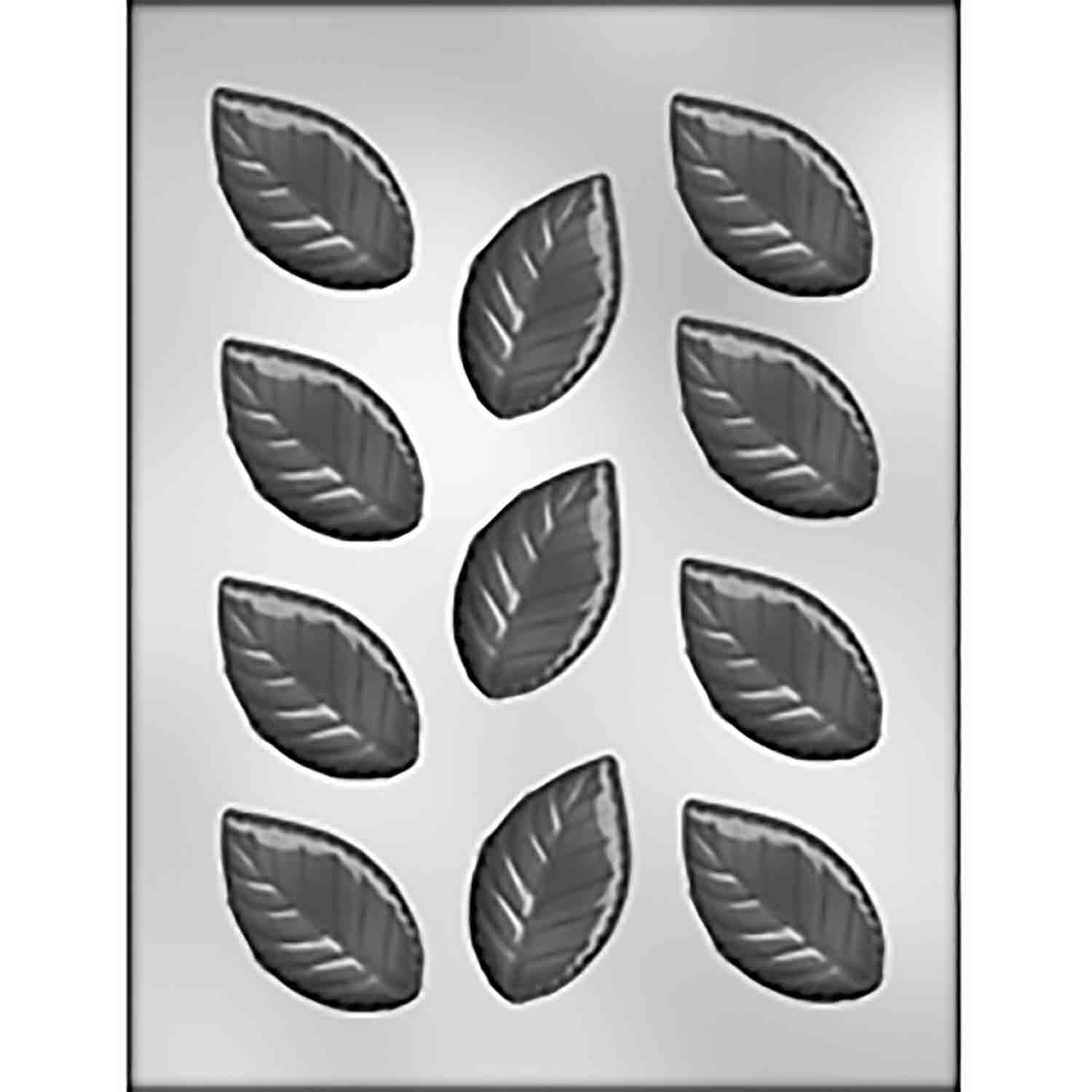 Rose Leaves Chocolate Candy Mold