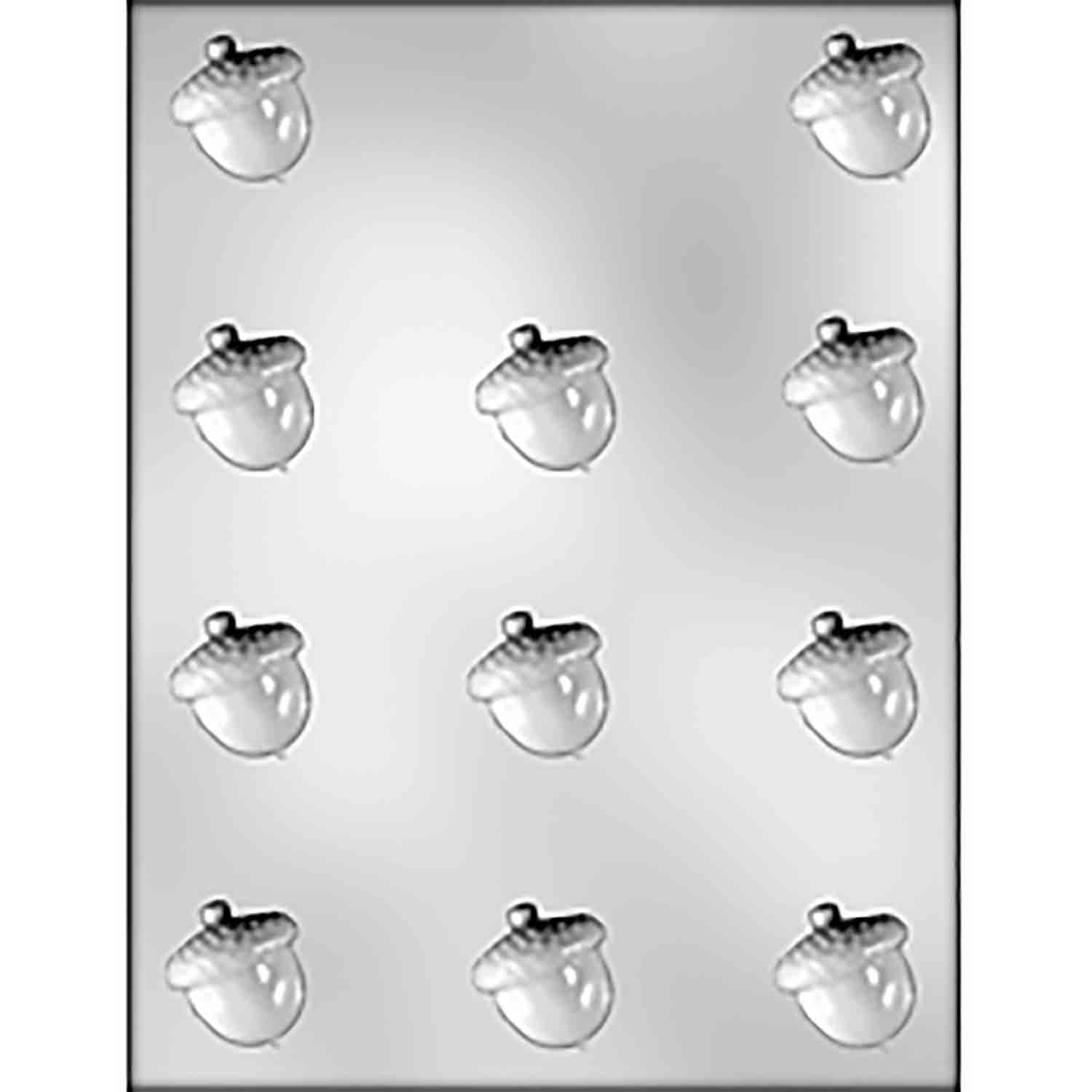 Acorn Chocolate Candy Mold