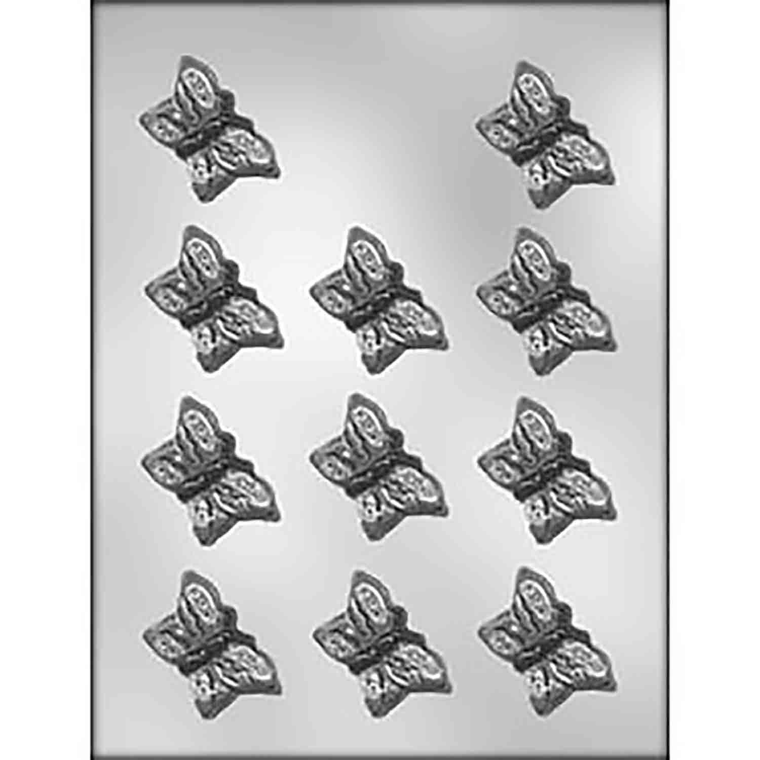 "Butterfly 1 3/4"" Chocolate Candy Mold"