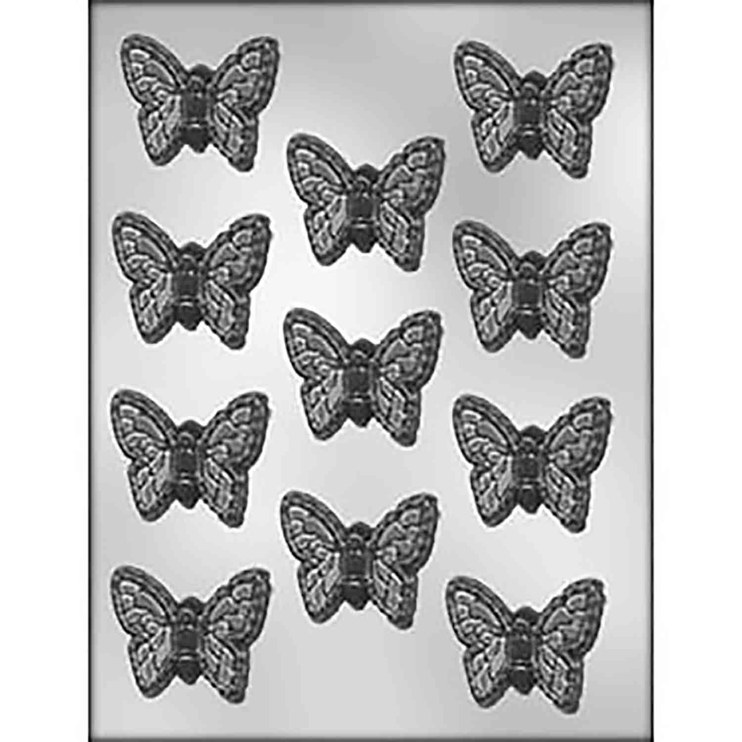 "Butterfly 2"" Chocolate Candy Mold"