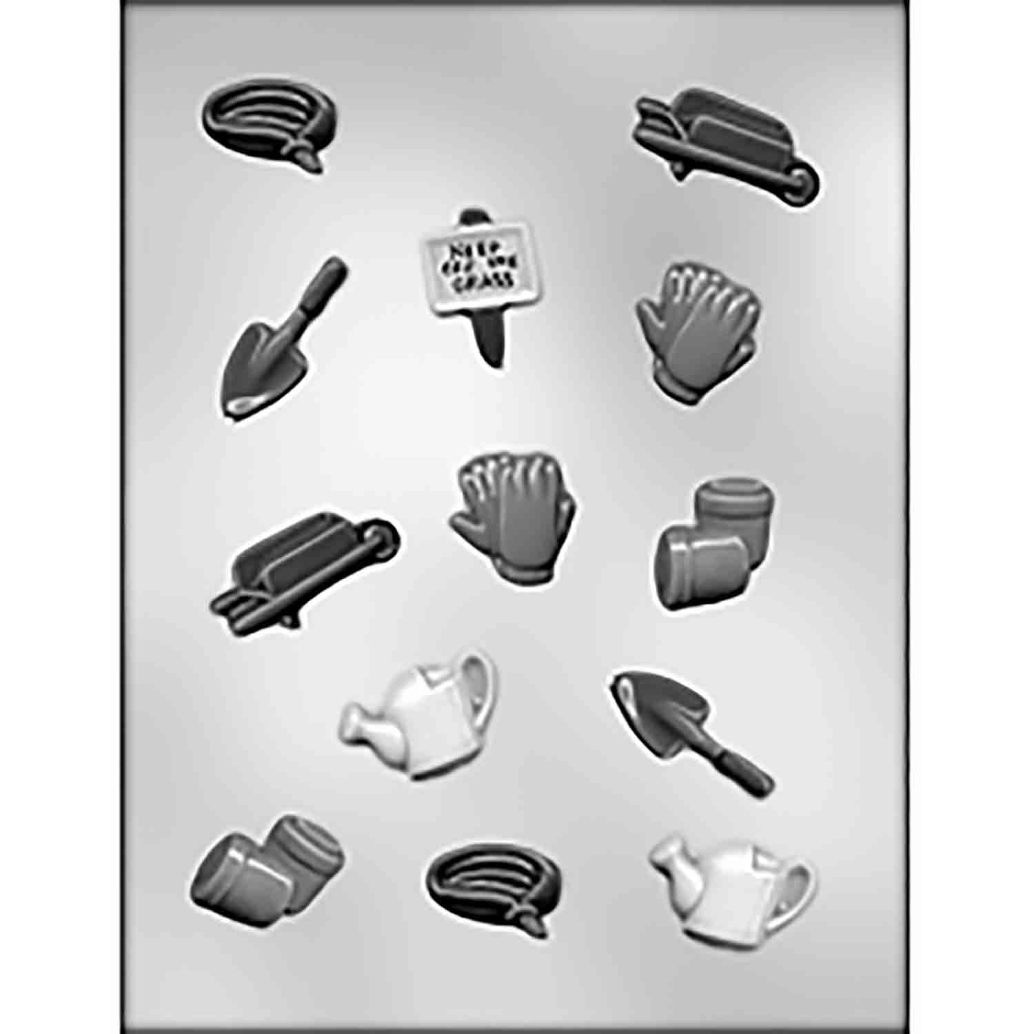 Gardener's Tools Chocolate Candy Mold