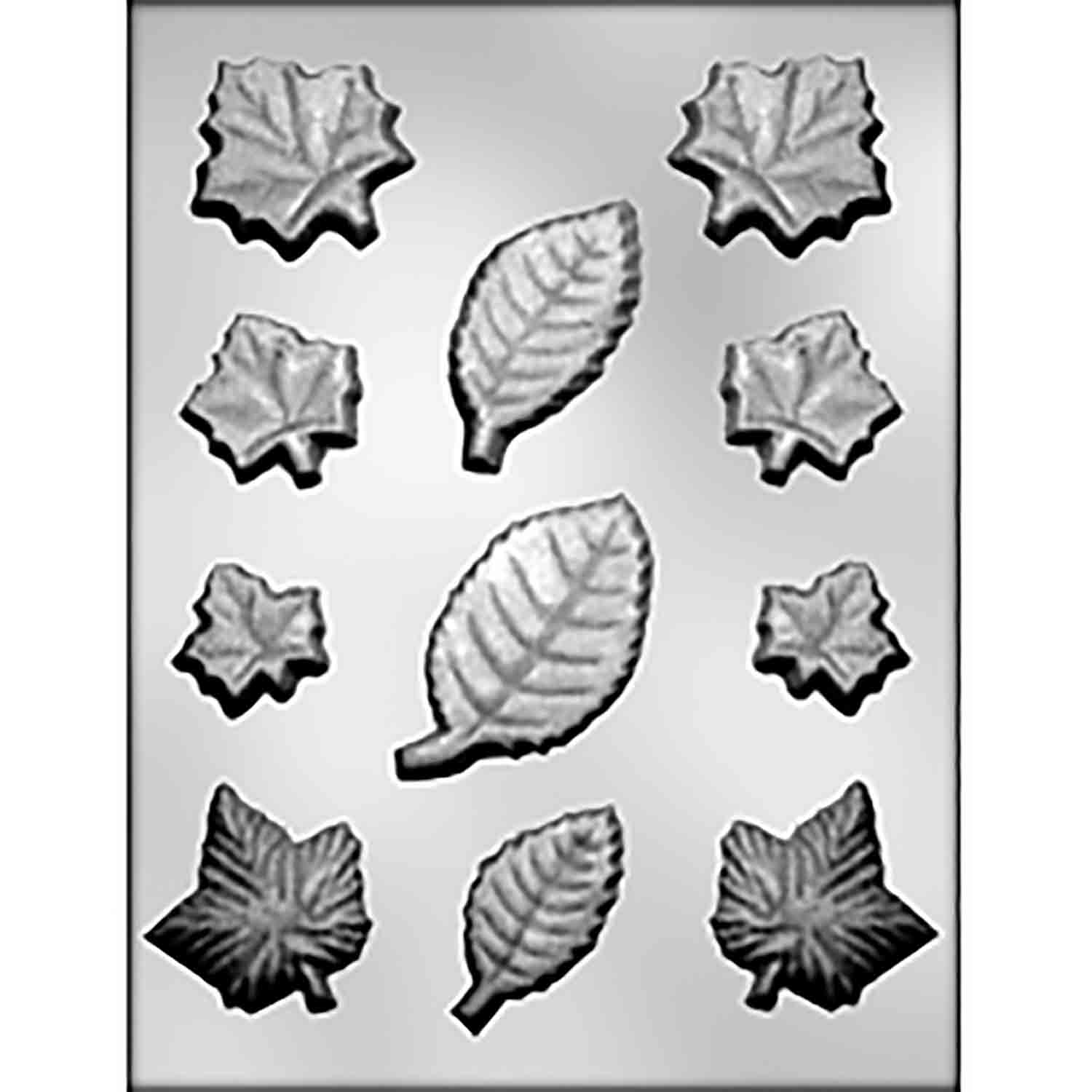 Leaves Assortment Chocolate Candy Mold