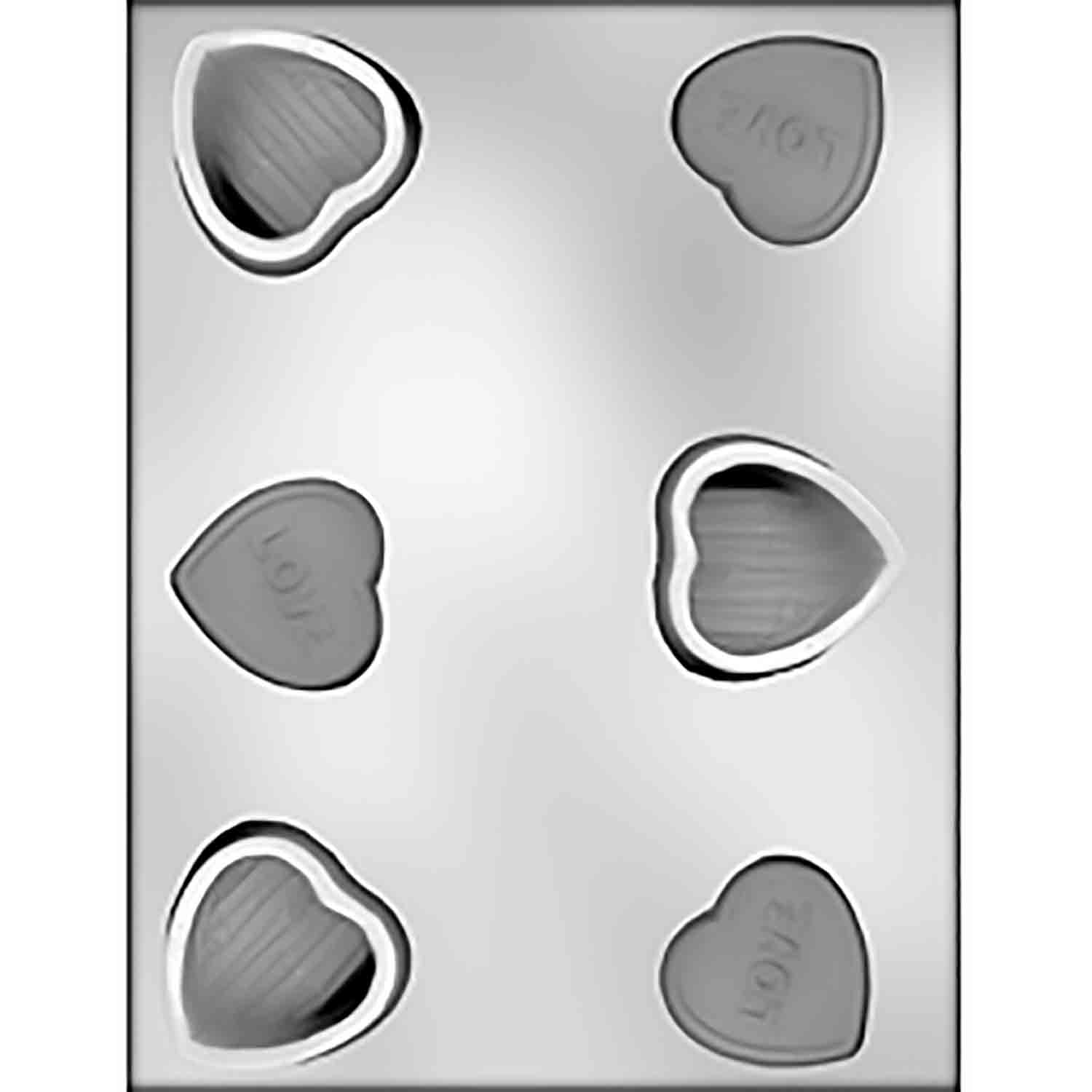 LOVE Heart Box Chocolate Candy Mold