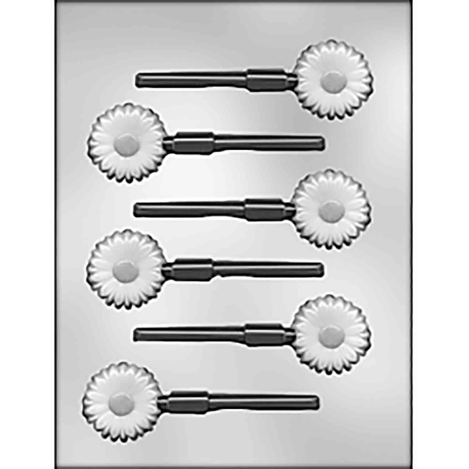 Daisy Sucker Chocolate Candy Mold