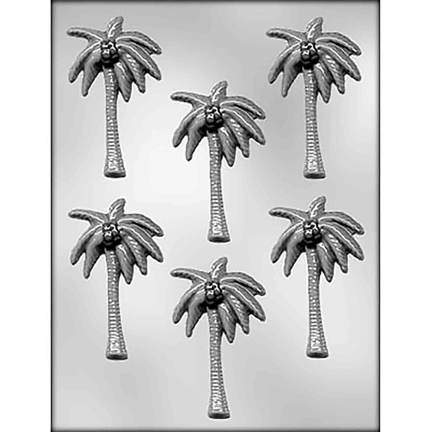 Palm Tree Chocolate Candy Mold