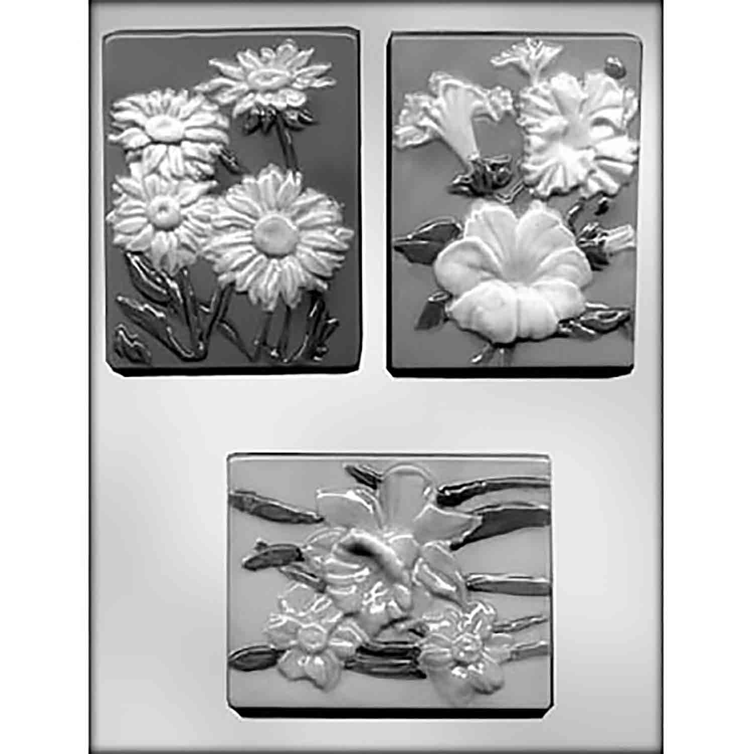 Cake Lady Plaques #3 Chocolate Candy Mold