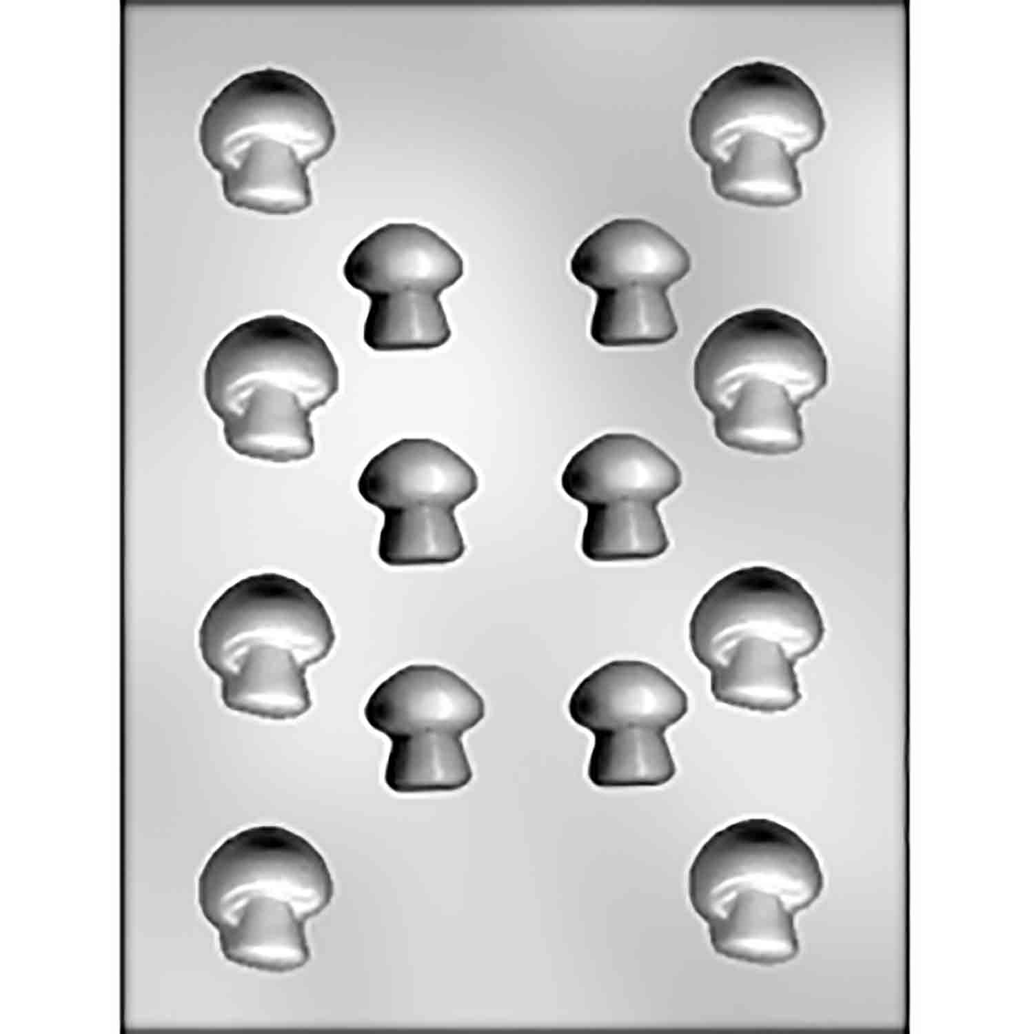 Mushrooms Chocolate Candy Mold