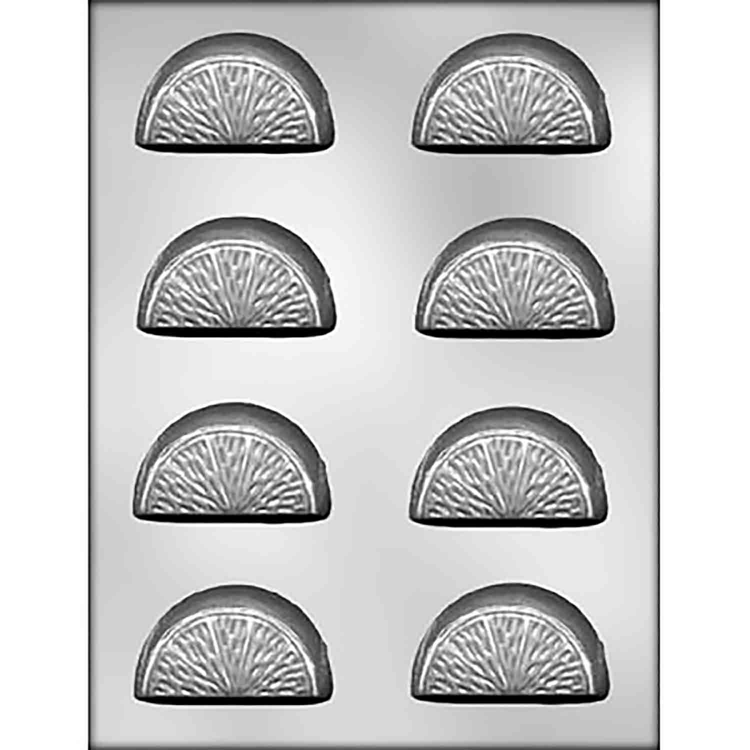 Orange Slices Chocolate Candy Mold