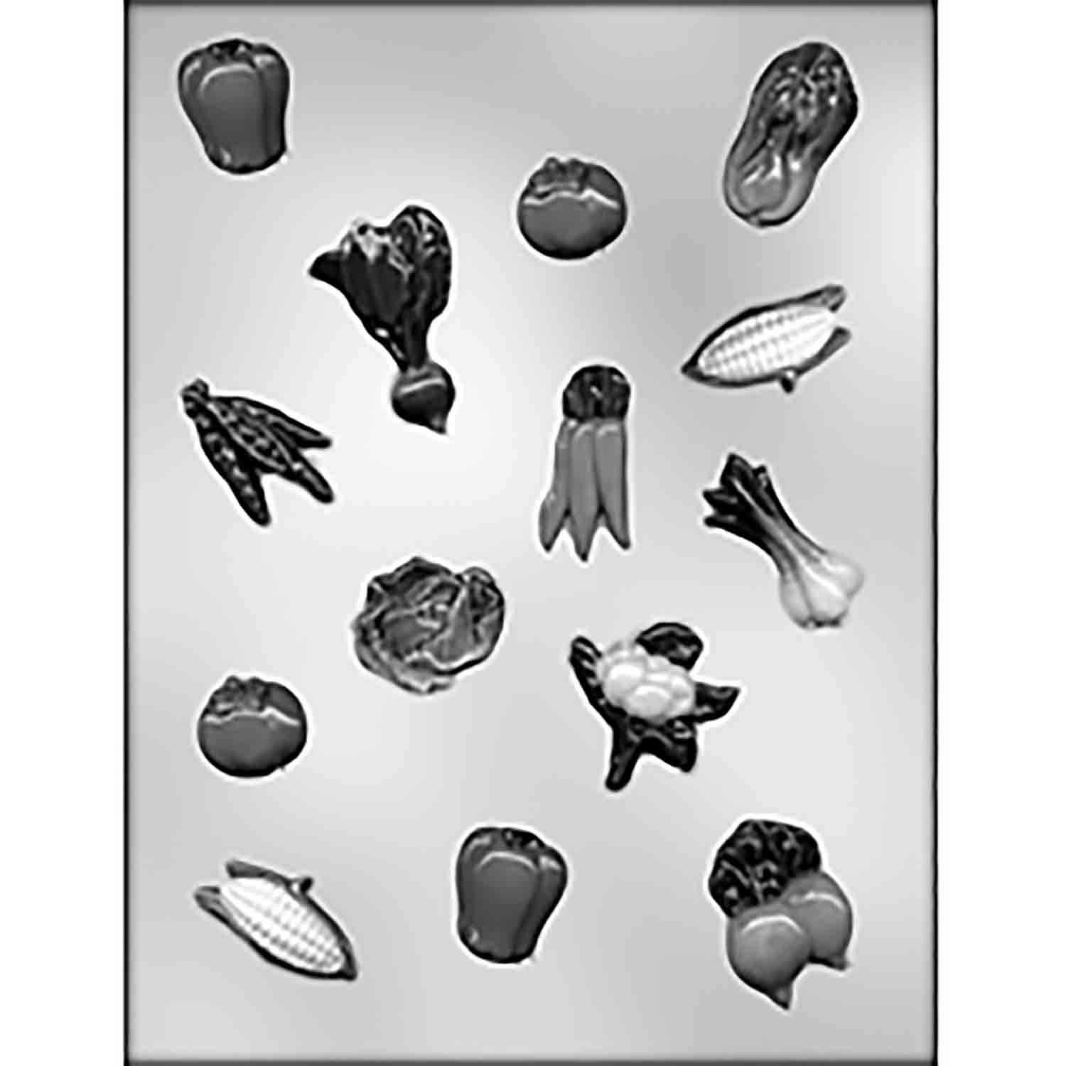Vegetables Chocolate Candy Mold
