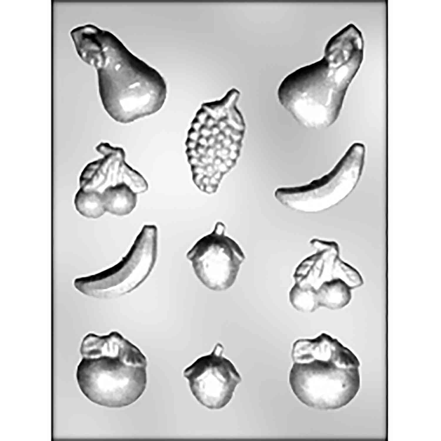 Mixed Fruit Chocolate Candy Mold