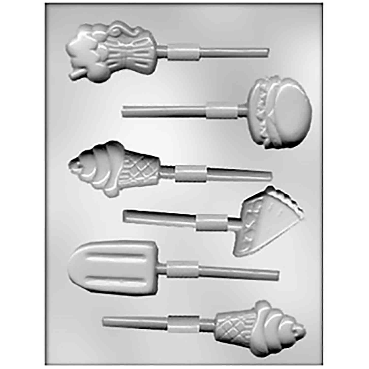 Soda Fountain Sucker Chocolate Candy Mold