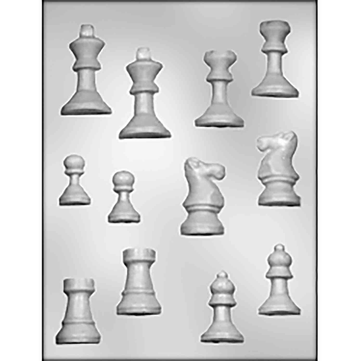 Chess Set Chocolate Candy Mold