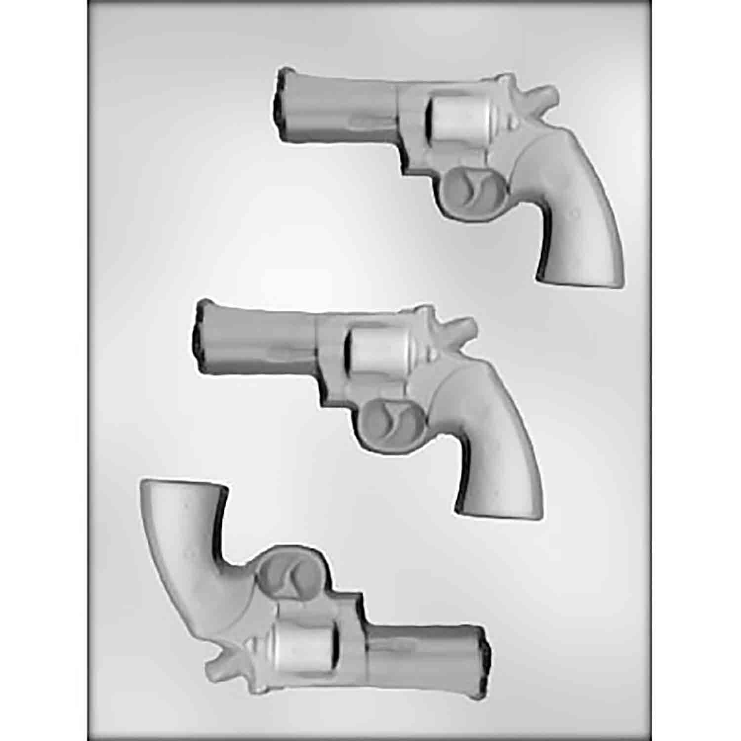 Revolver Chocolate Candy Mold