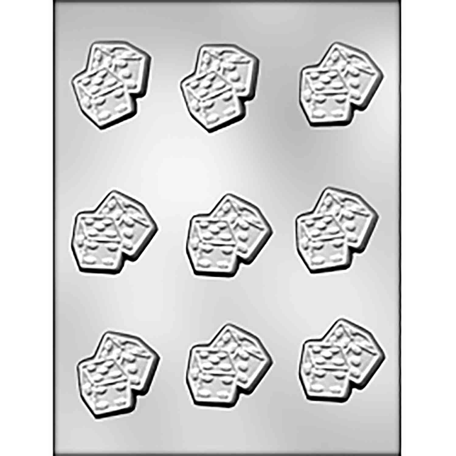Dice Chocolate Candy Mold
