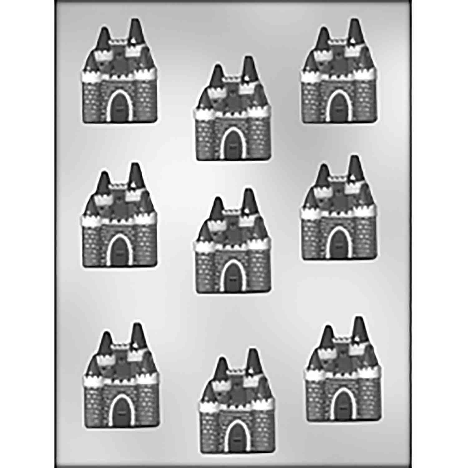 Castle Chocolate Candy Mold
