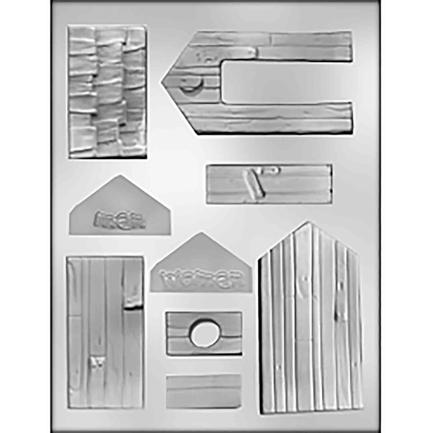 3D Outhouse Chocolate Candy Mold