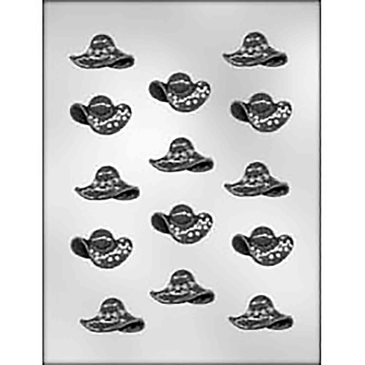 Hat Assortment Chocolate Candy Mold