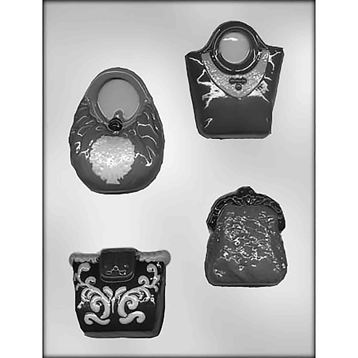 Purse Assortment Chocolate Candy Mold