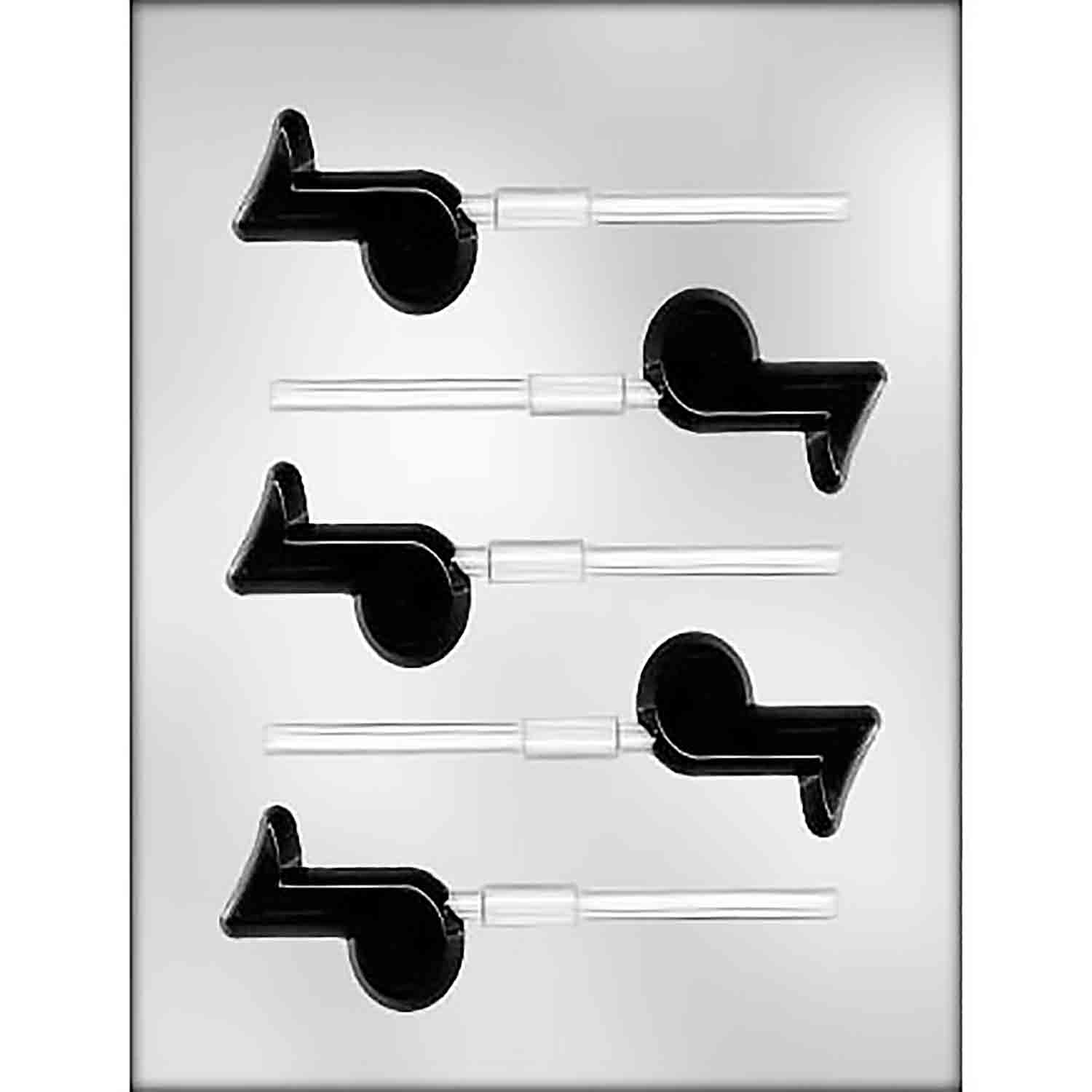Music Note Sucker Chocolate Candy Mold