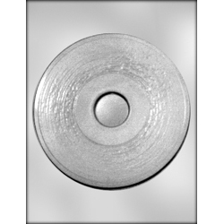 Plain 45 RPM Record Chocolate Candy Mold