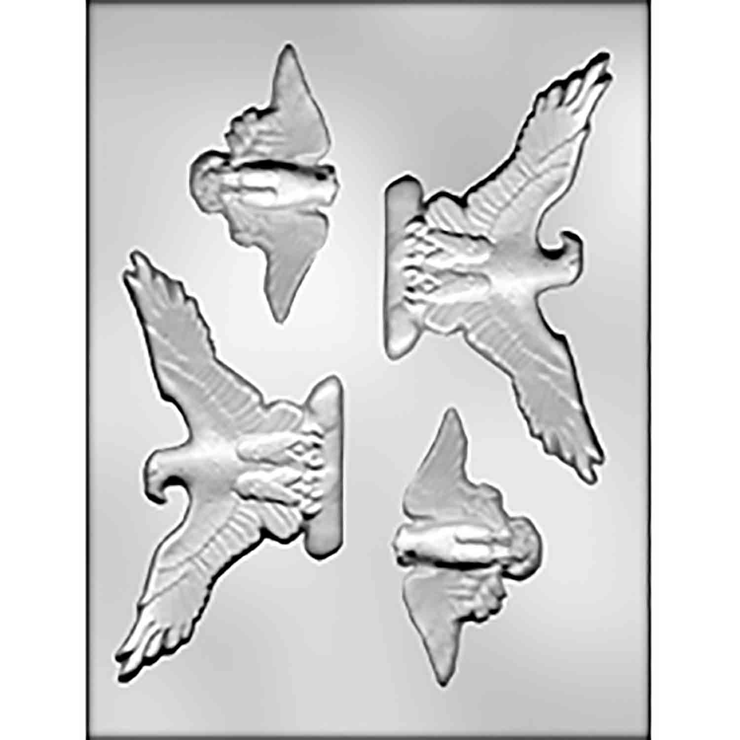 Eagle Assortment Chocolate Candy Mold