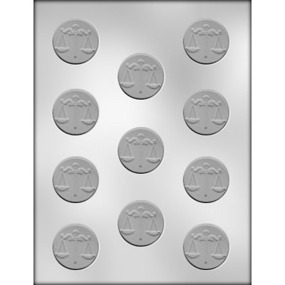 Attorney Mint Chocolate Candy Mold