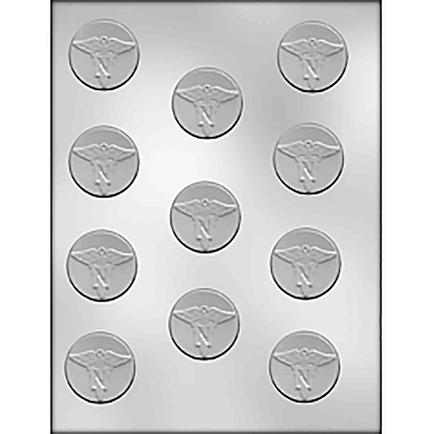 Nurse Mint Chocolate Candy Mold