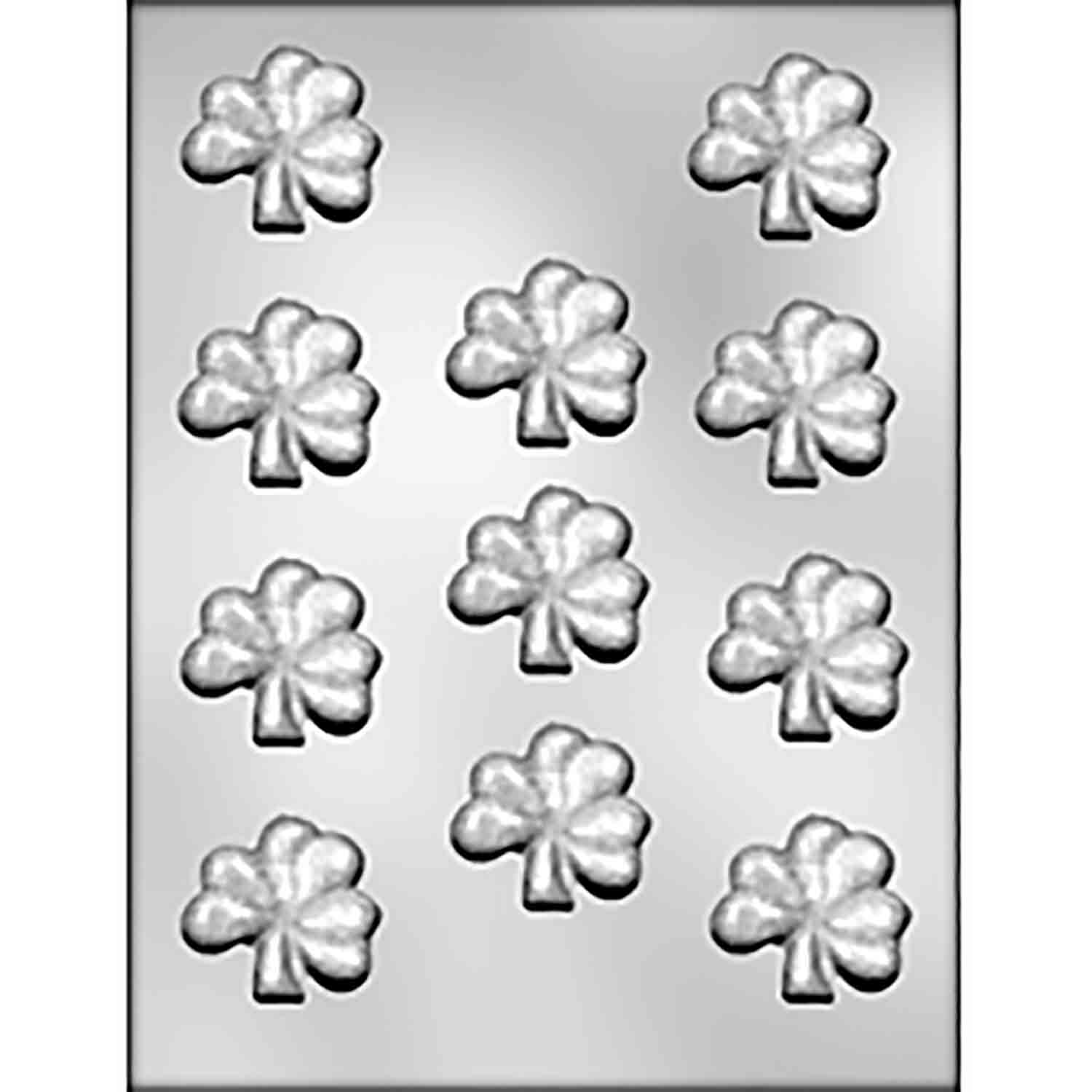 Shamrock Chocolate Candy Mold