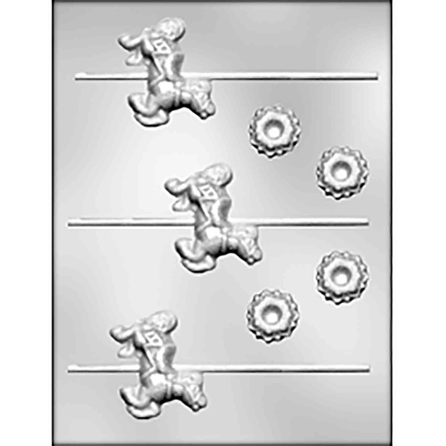 Carousel Horse Sucker for Carousel Set Candy Mold