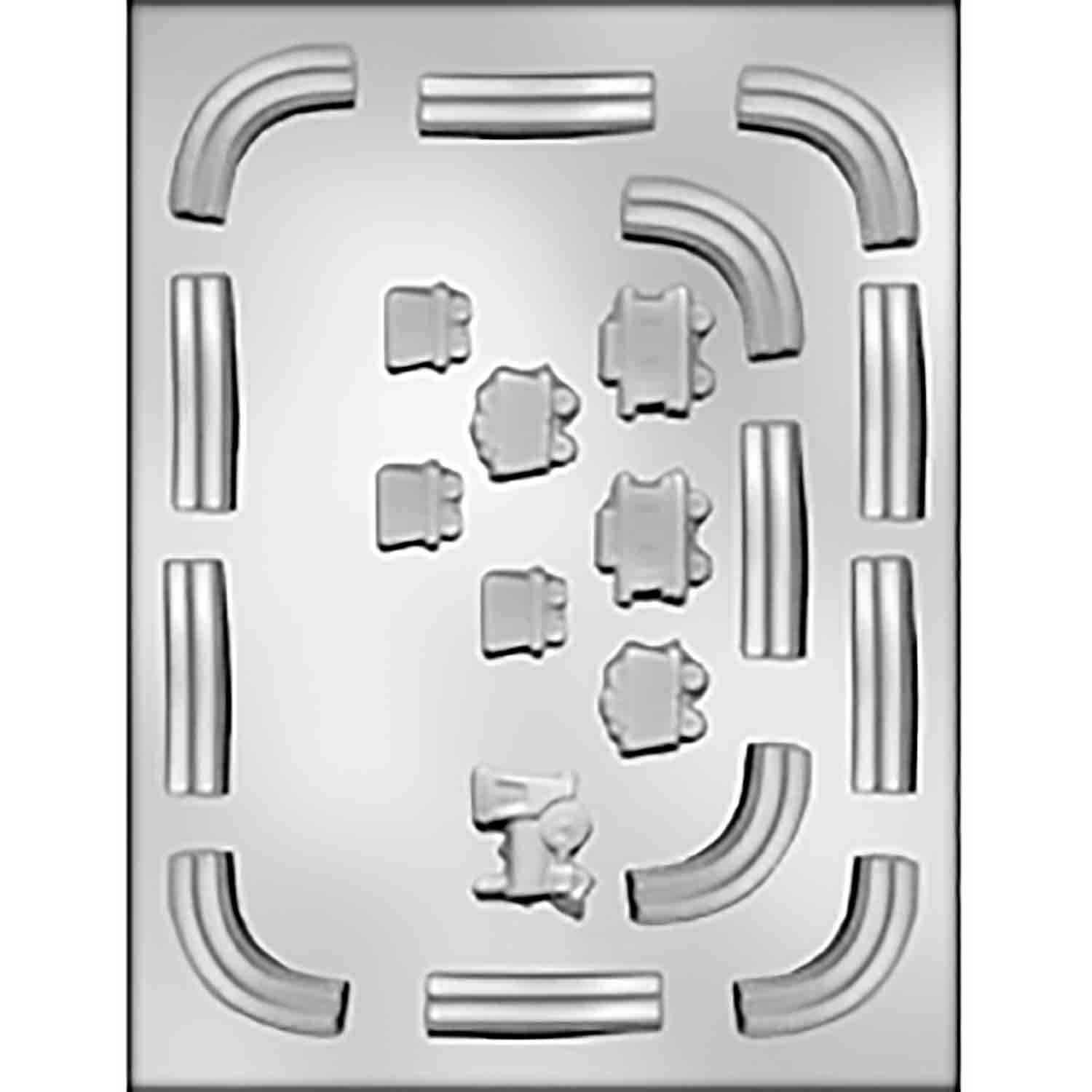 Train with Track Chocolate Candy Mold