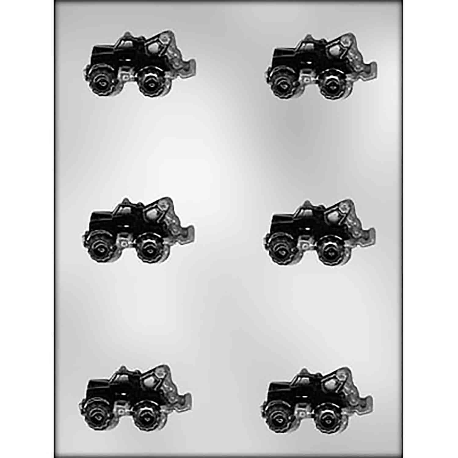 Tow Truck Chocolate Candy Mold