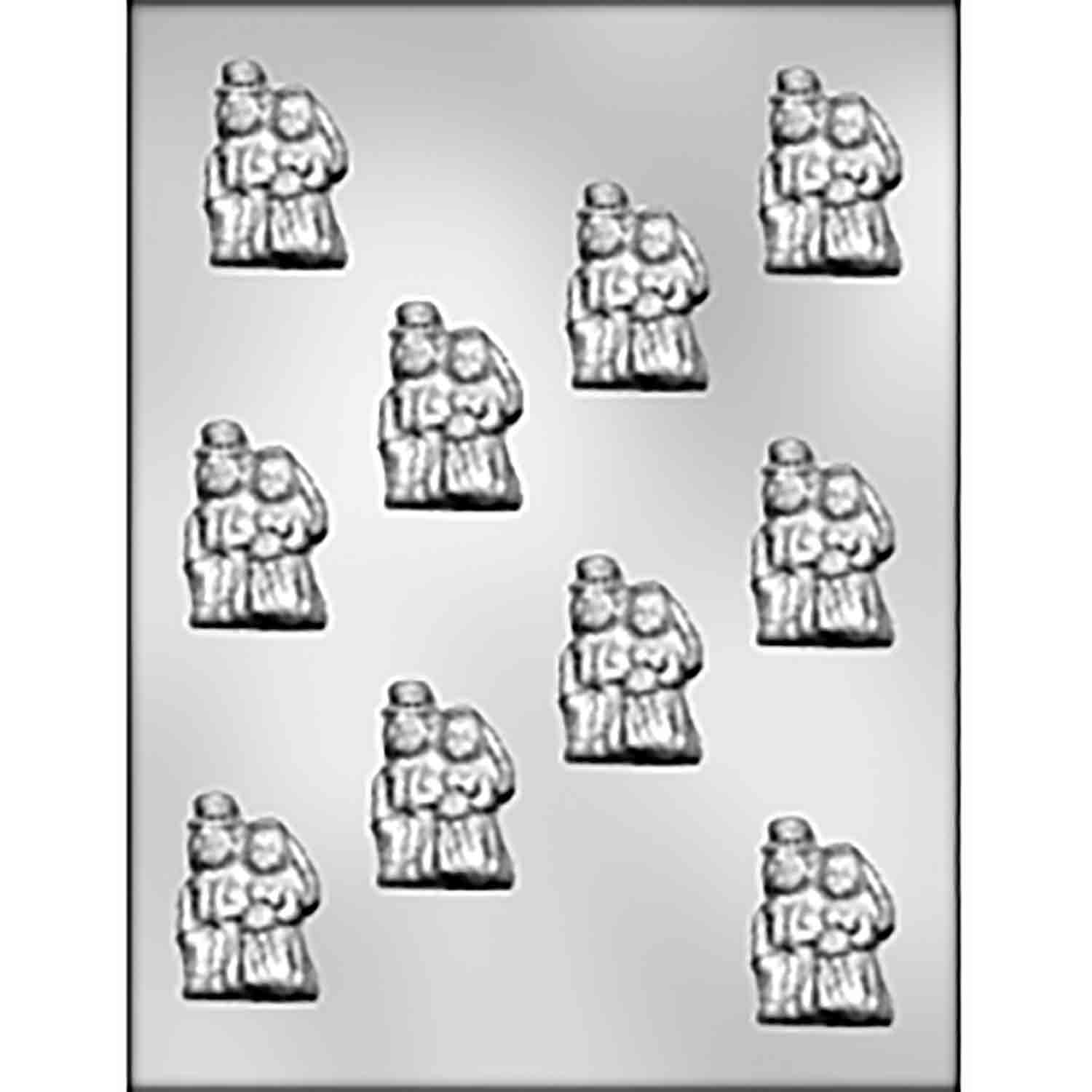 Bride & Groom Couple Chocolate Candy Mold