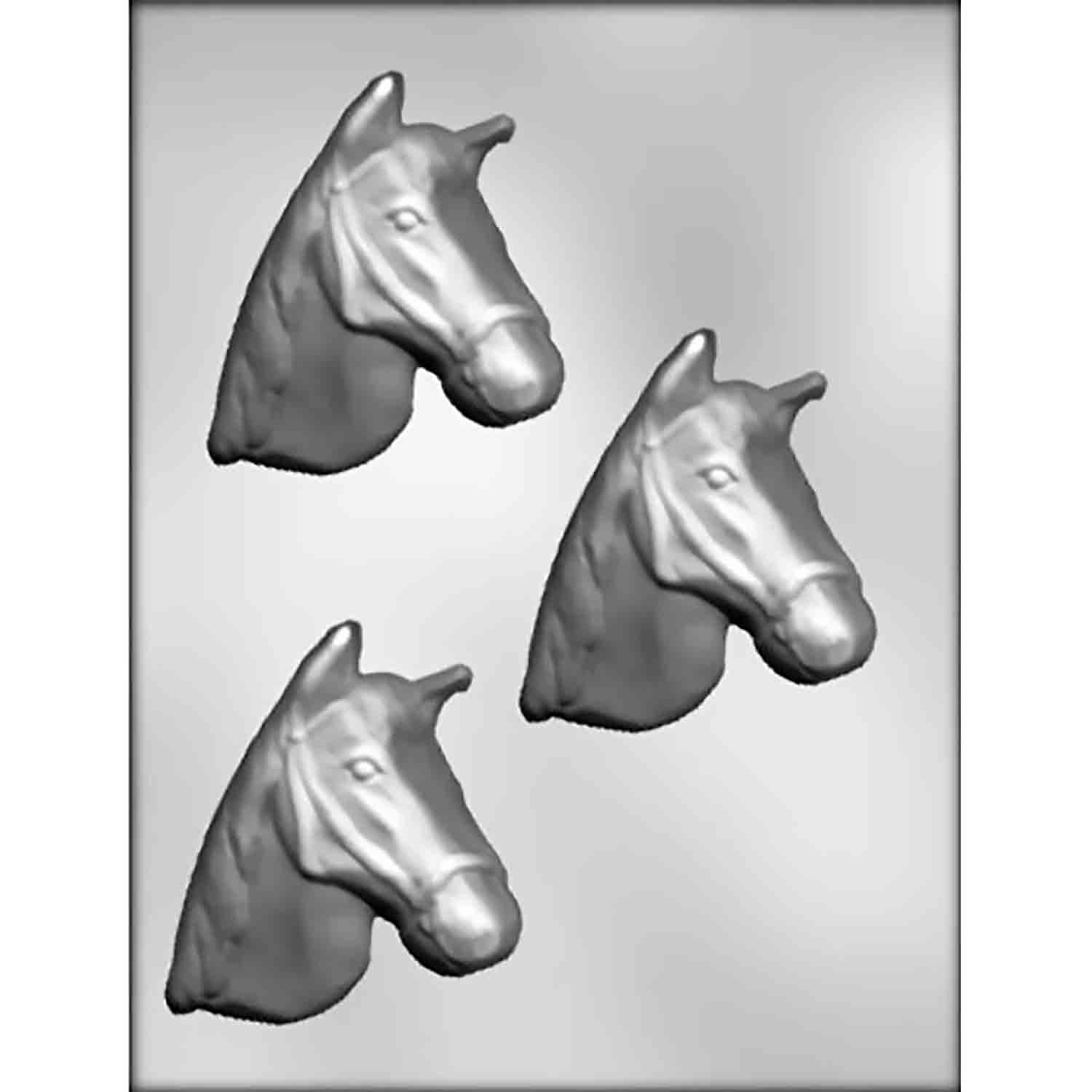 Horse Head Chocolate Candy Mold
