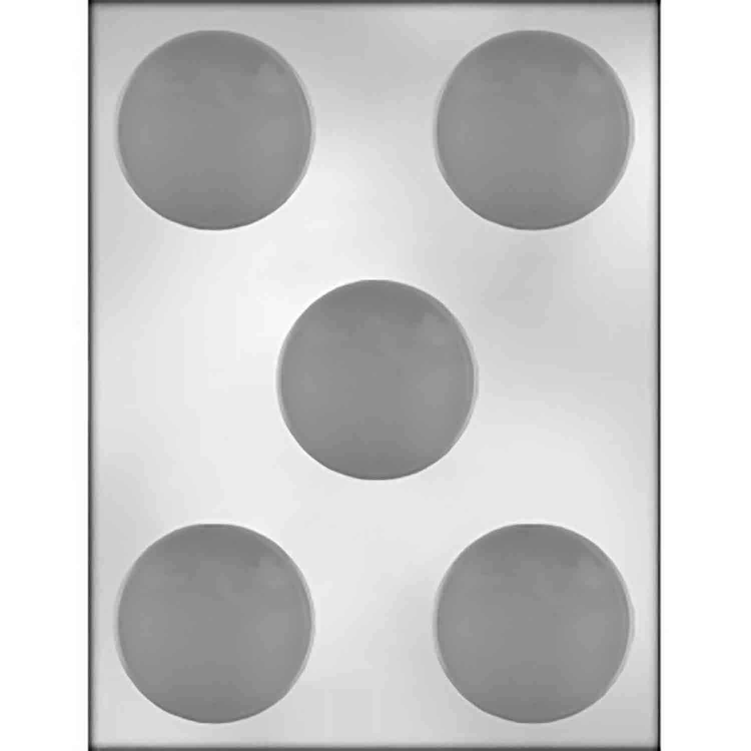 Plain Sandwich Cookie Chocolate Mold