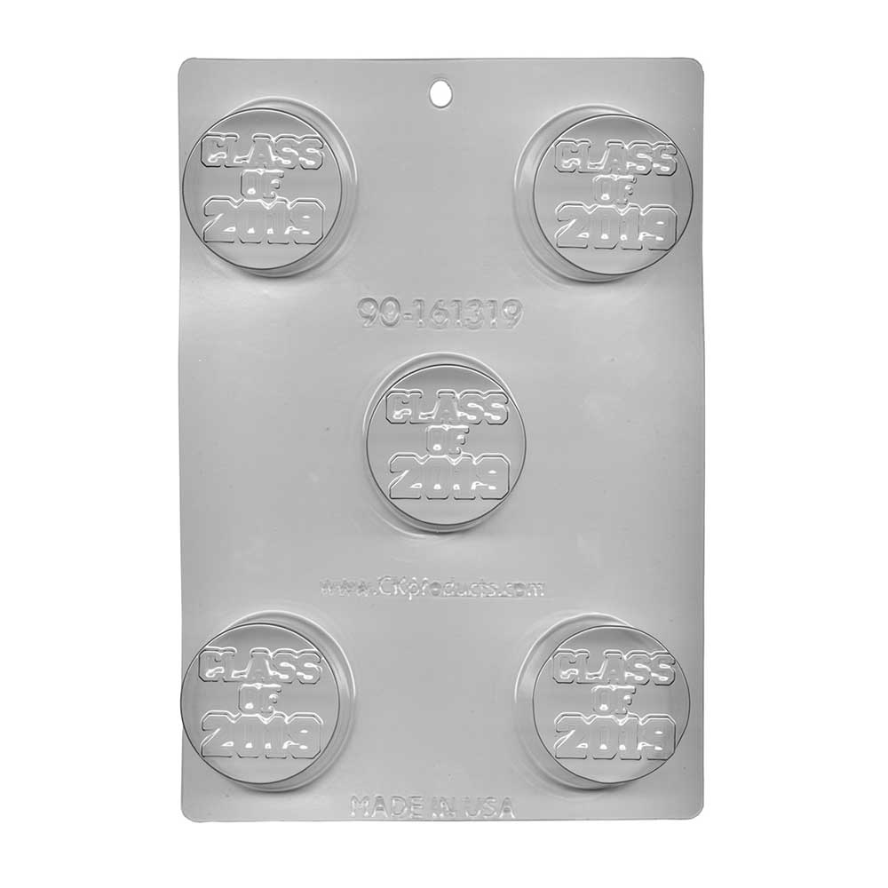 Class of 2019 Sandwich Cookie Chocolate Mold