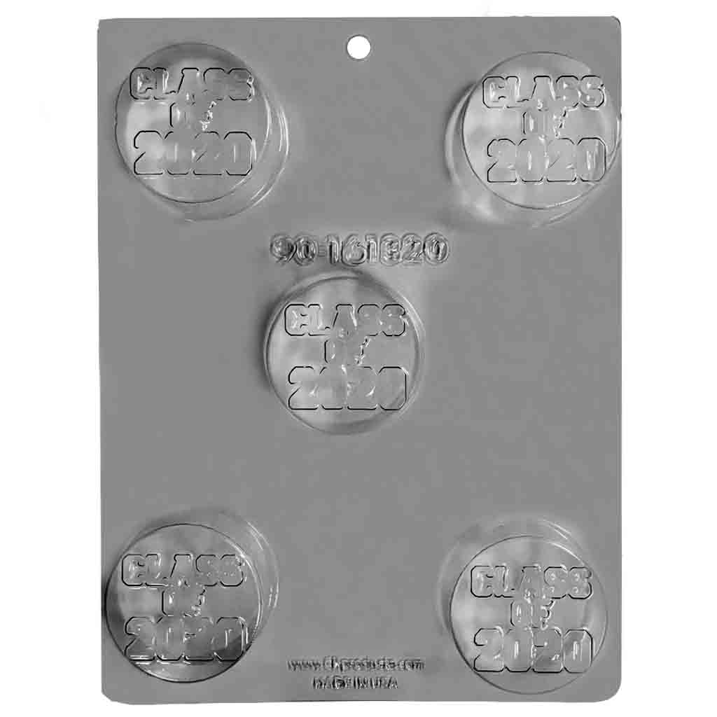 Class of 2020 Sandwich Cookie Chocolate Mold