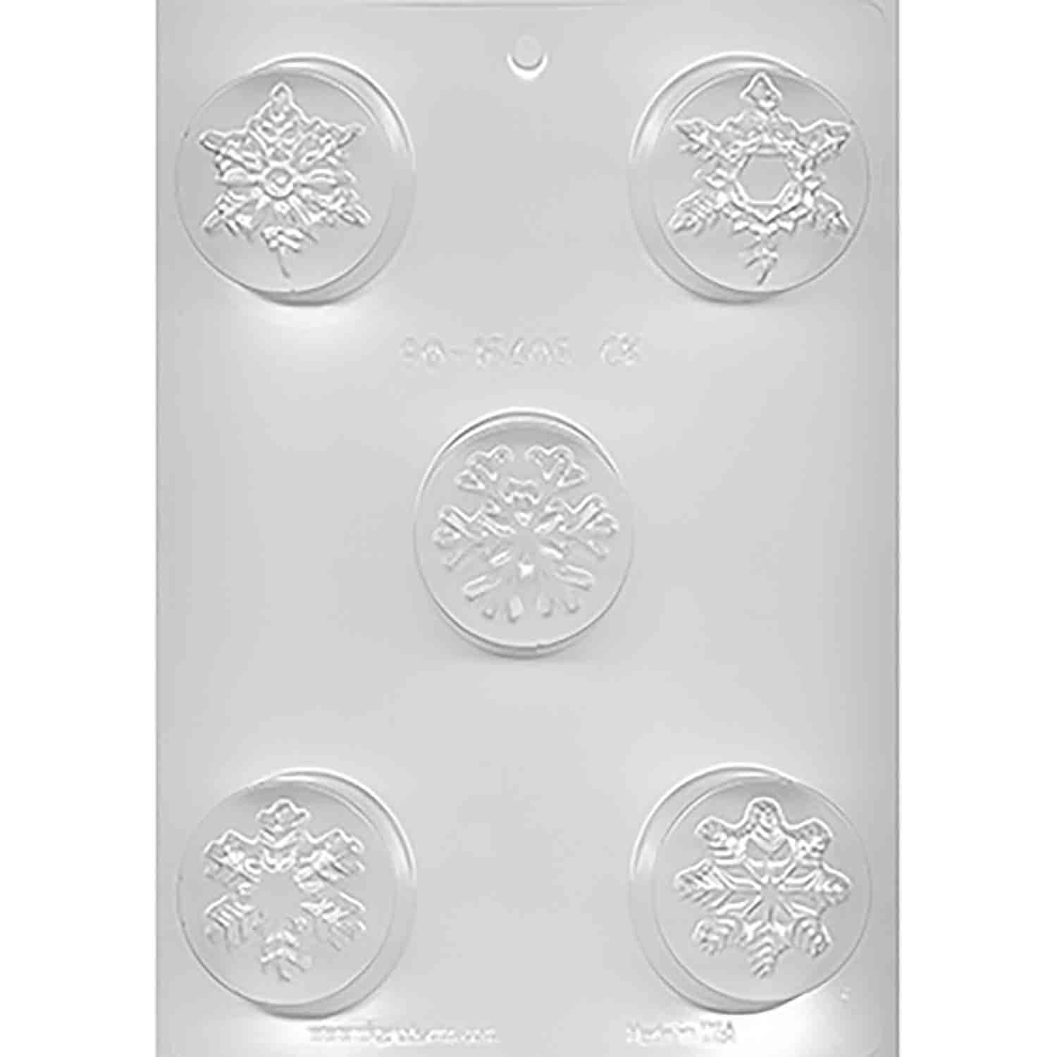 Snowflake Cookie Chocolate Mold