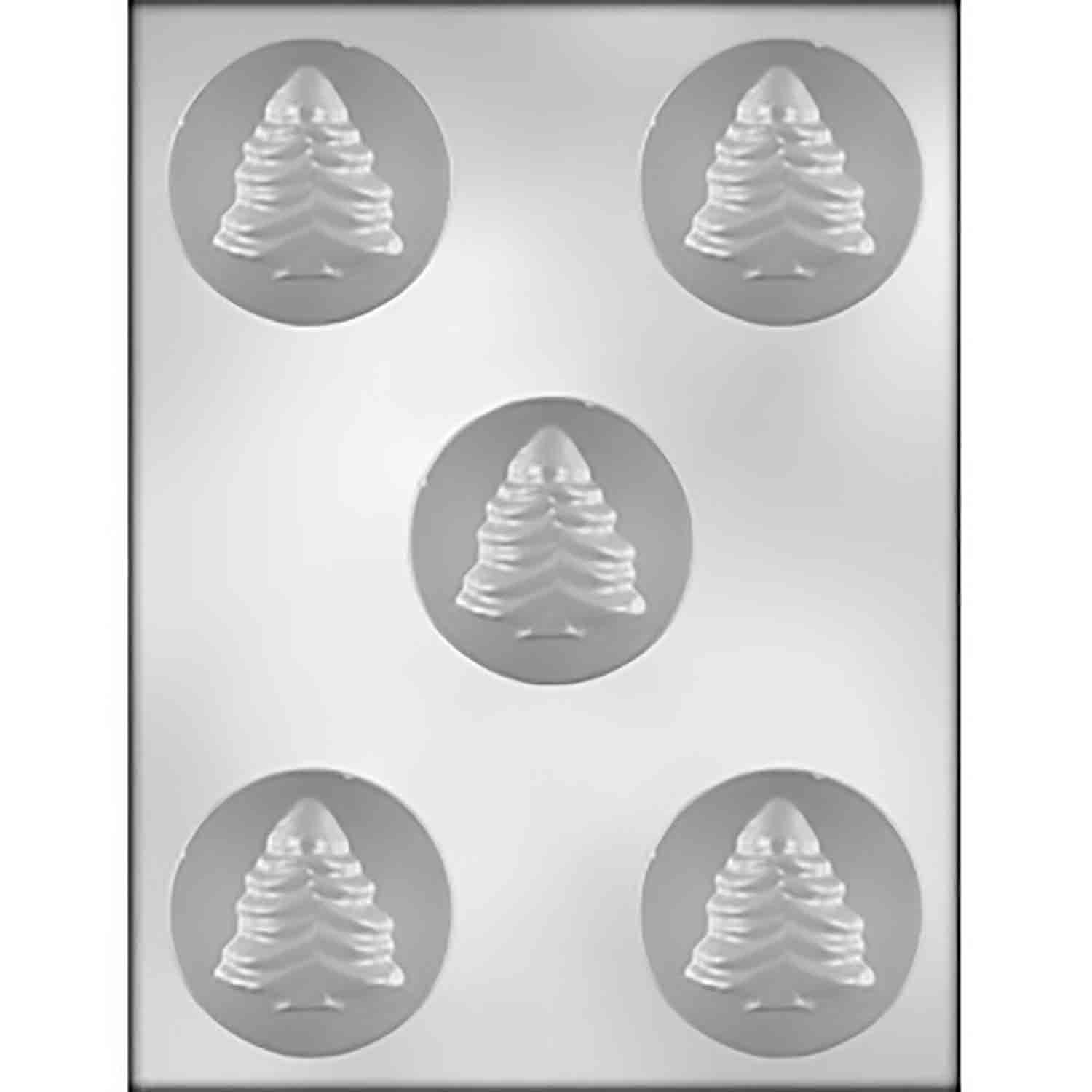 Christmas Tree Sandwich Cookie Chocolate Mold
