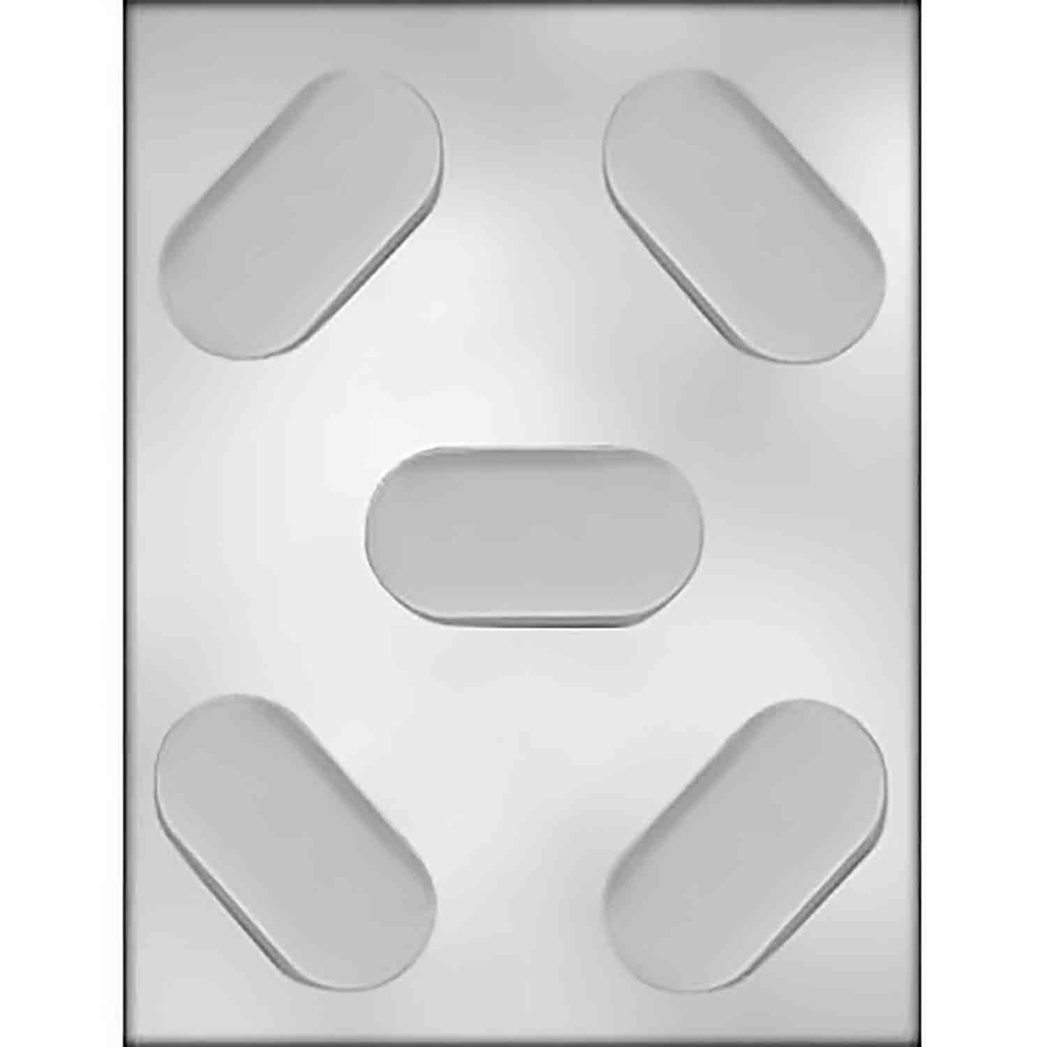 Sandwich Cookie Chocolate Mold