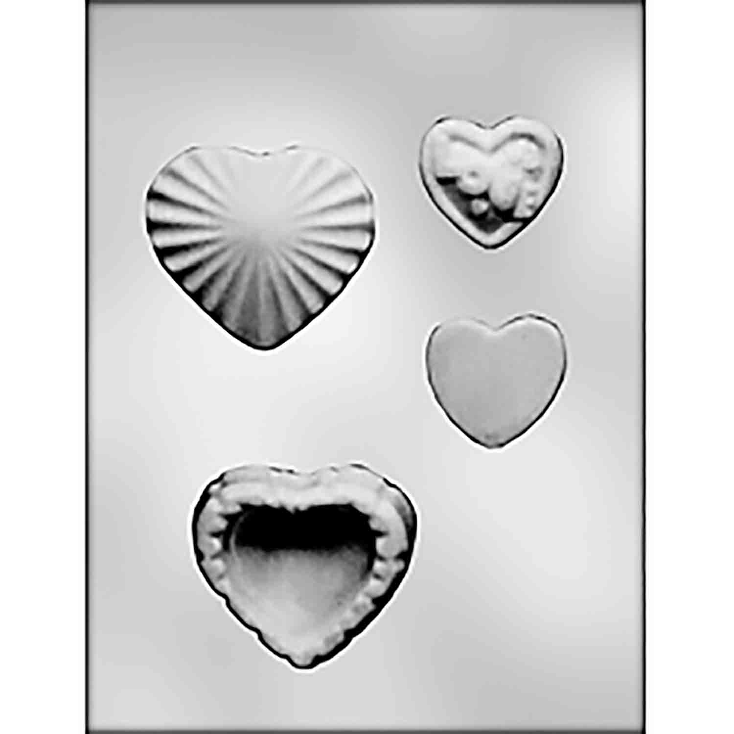 Small Heart Box with Small Hearts Candy Mold