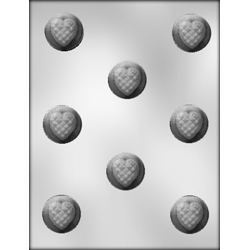 Quilt Top Heart Chocolate Candy Mold
