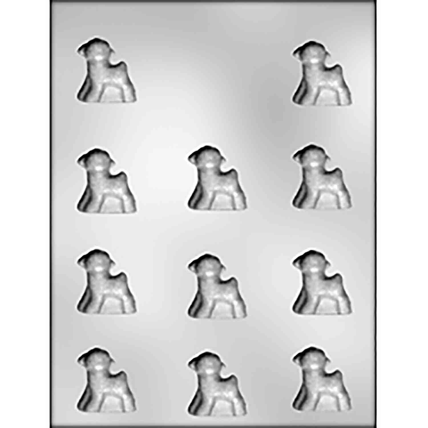 Small Lamb Chocolate Candy Mold
