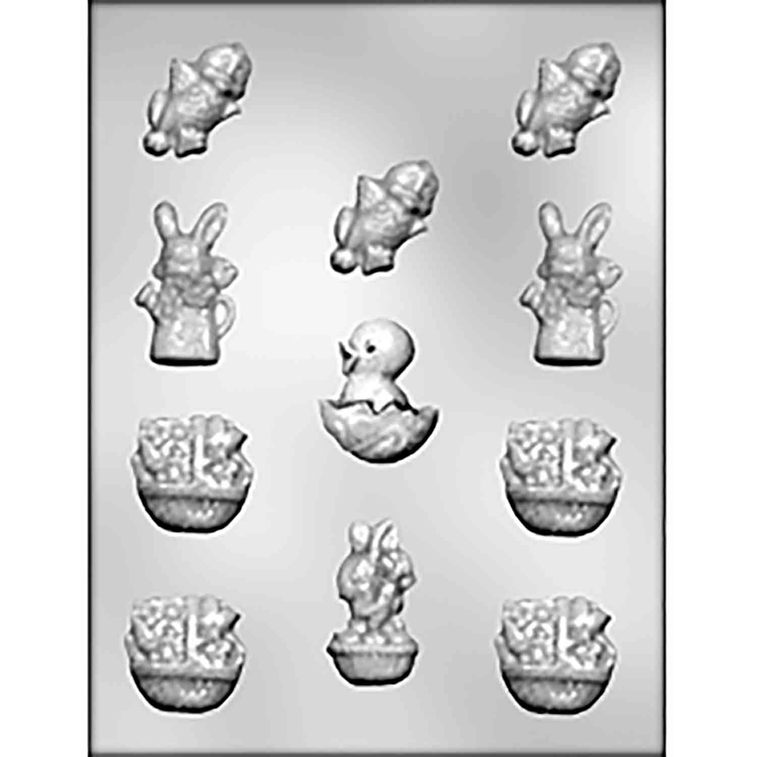 Easter Assortment Chocolate Candy Mold
