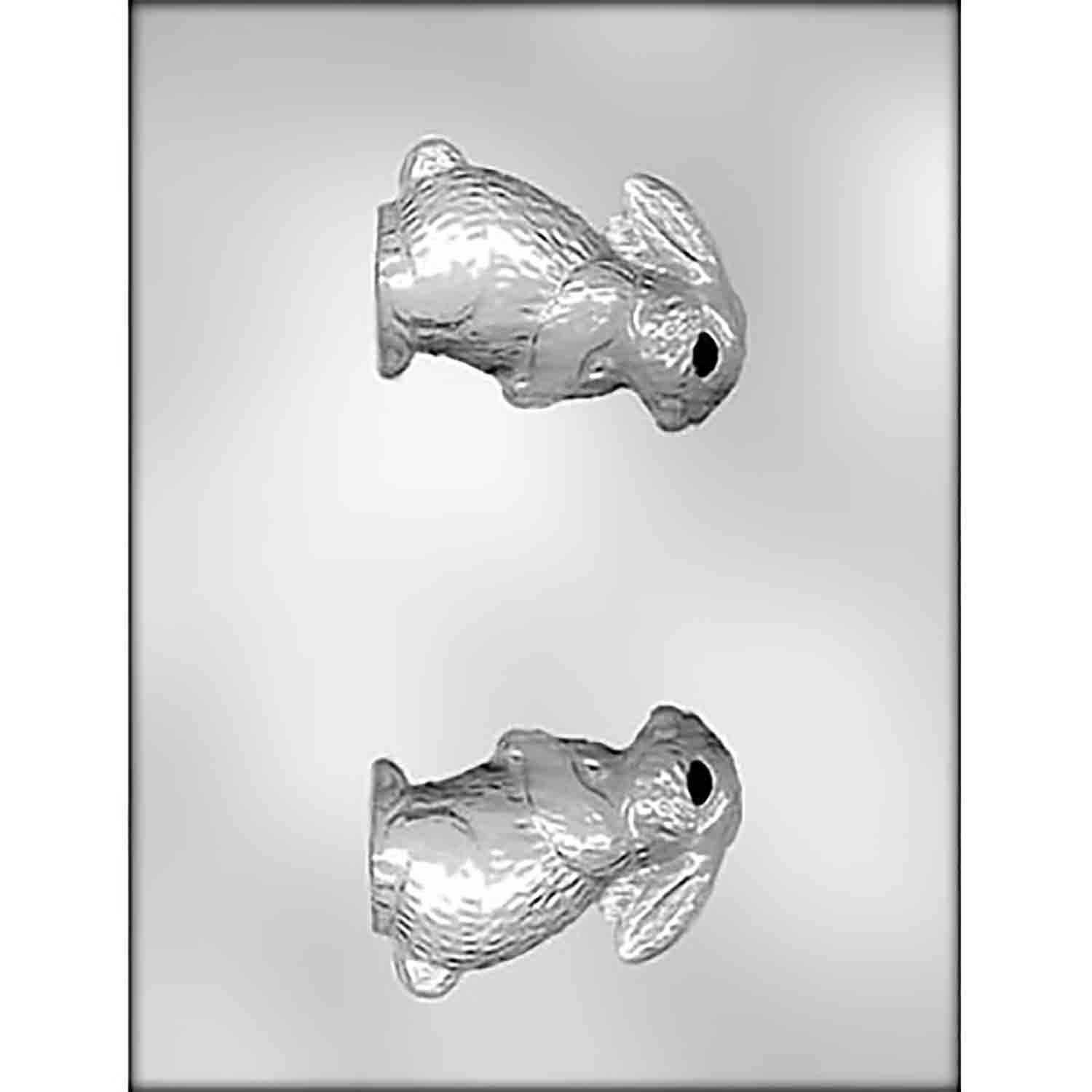 3D Upright Bunny Chocolate Candy Mold