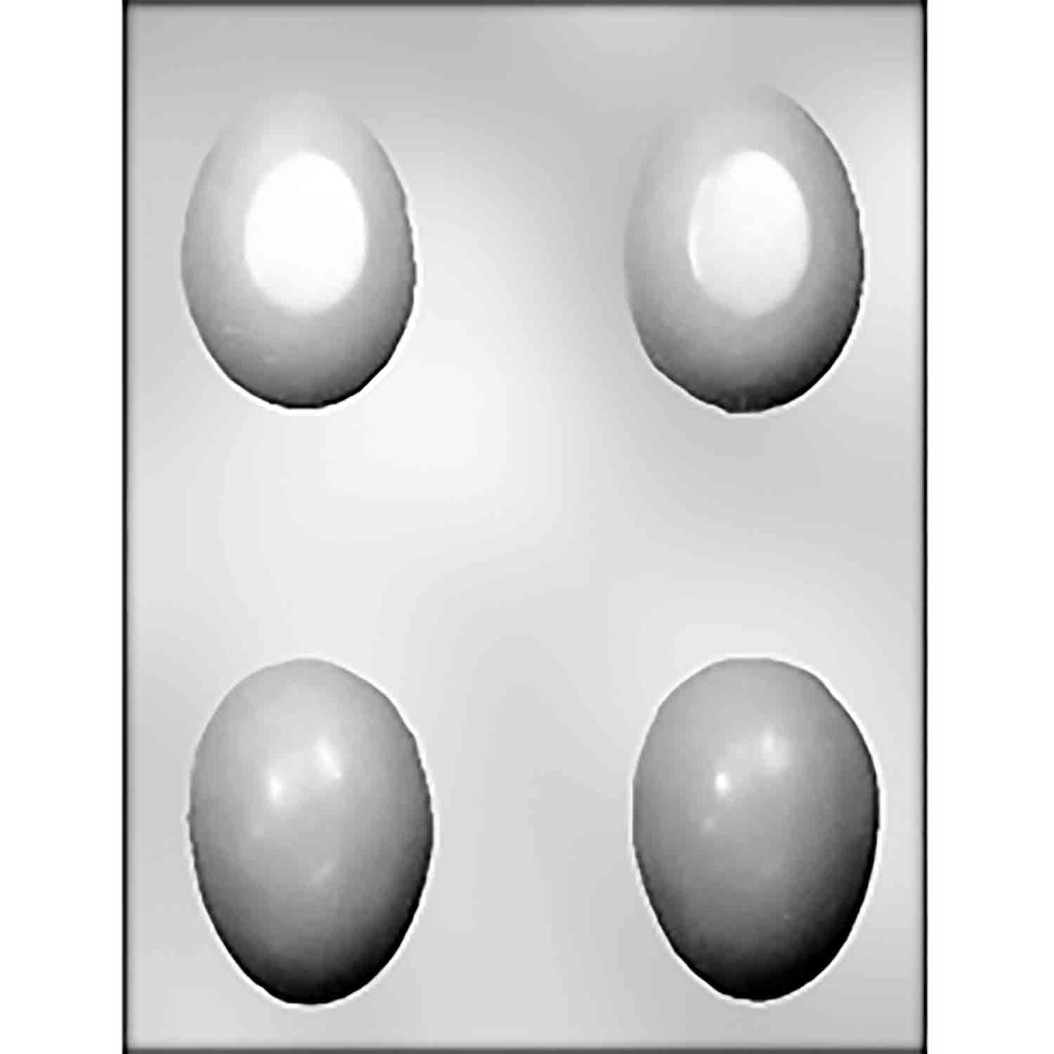 3D Plain Egg Chocolate Candy Mold