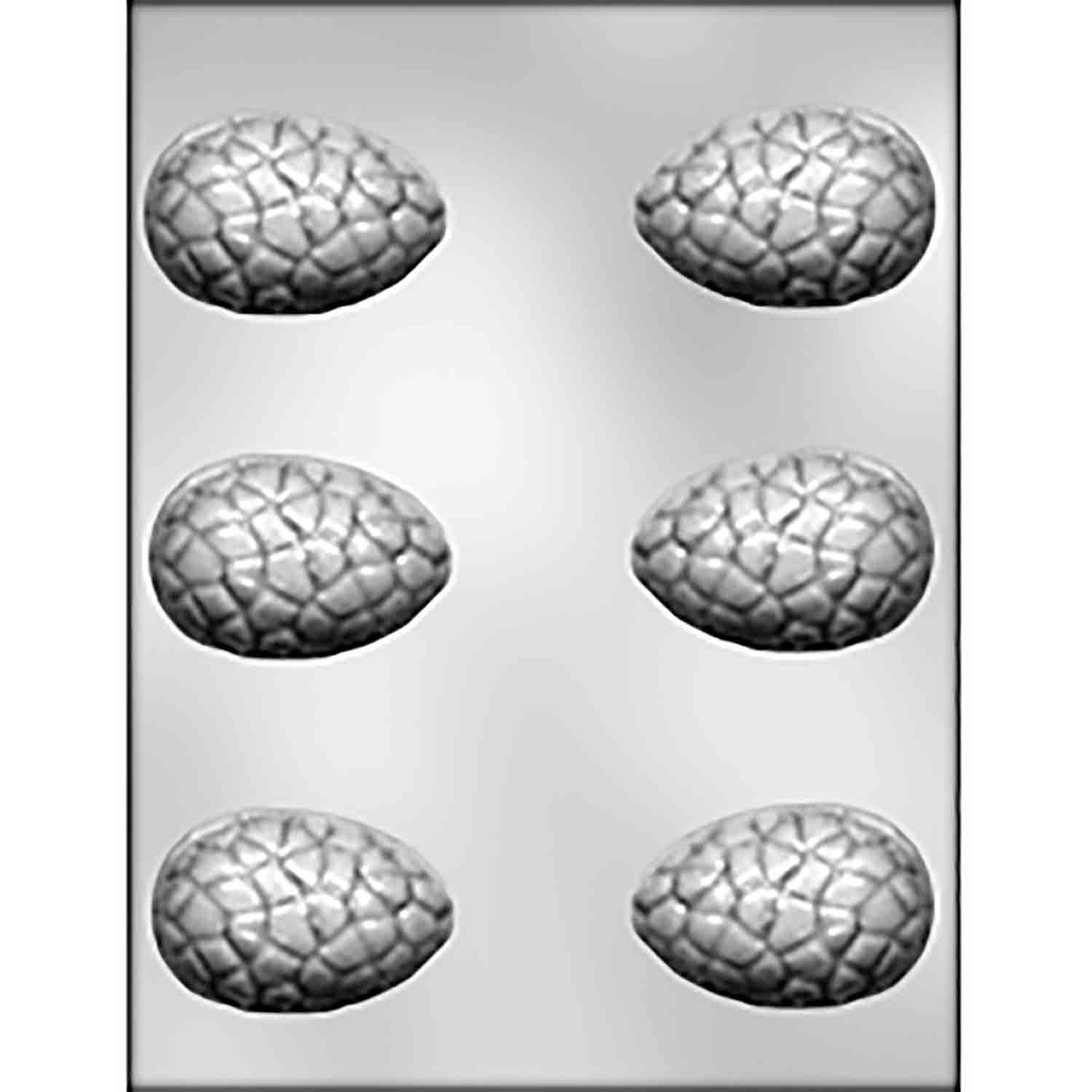 3D Small Cracked Egg Chocolate Candy Mold